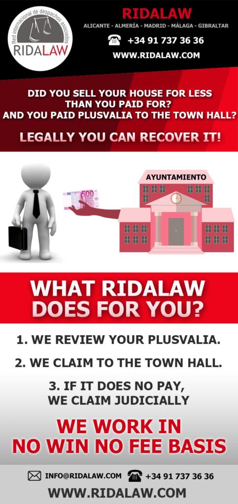 возвращение налога на прирост капитала Rida Law Red